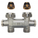 HERZ-3000 TP-bypass body for one-pipe systems