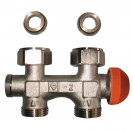 TS-3000 Connection Elements for Two-Pipe Systems with Integrated Thermostatic Valves