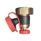 HERZ-drain valve