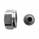 Compression adapter metal-to-metal joint