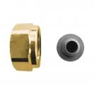 Compression nut & olive set for HERZ ball valve 2190