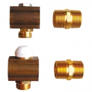 HERZ-Single Outlet set with thermostatic upper par