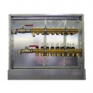 Pre-assembled Control station for radiator heating control