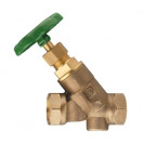 STRÖMAX-W-Isolating Valve, inclined model with threaded ends, Rp (female thread)