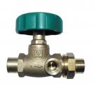 HERZ-Isolating valve, straight pattern