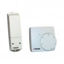 Wireless control room thermostat