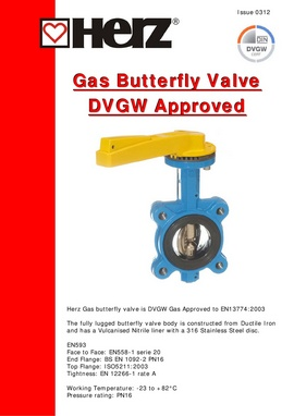 Gas butterfly